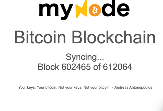 mynode-Syncing BLockchain.png